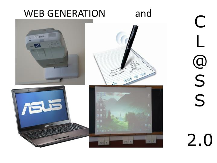 WEB GENERATION            and