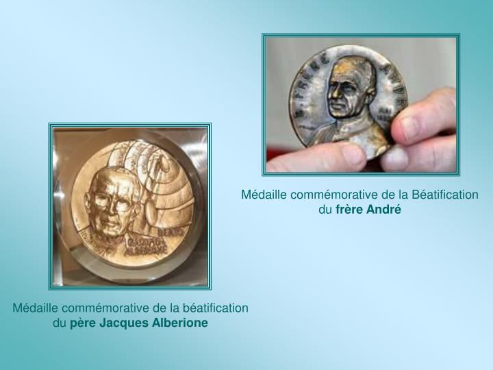 Médaille commémorative de la Béatification