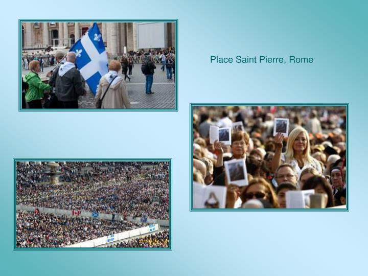 Place Saint Pierre, Rome