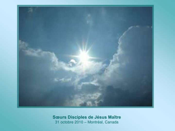 Sœurs Disciples de Jésus Maître
