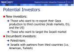 potential investors
