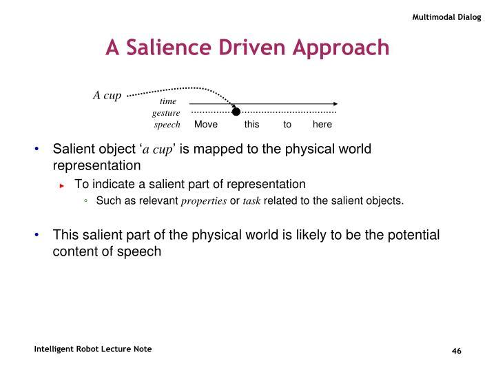 A Salience Driven Approach