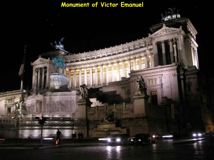 Monument of Victor Emanuel
