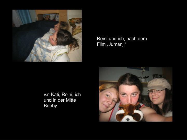"""Reini und ich, nach dem Film """"Jumanji"""""""