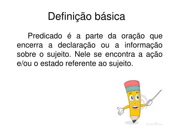 Definição básica