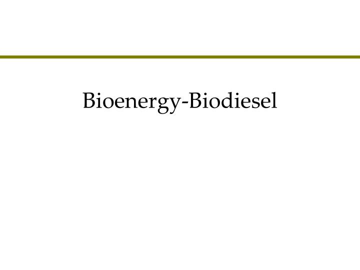 Starting a Biodiesel Production Company – Sample Business Plan Template