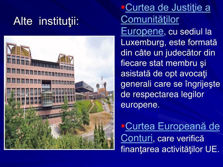 Curtea de Justiţie a Comunităţilor Europene