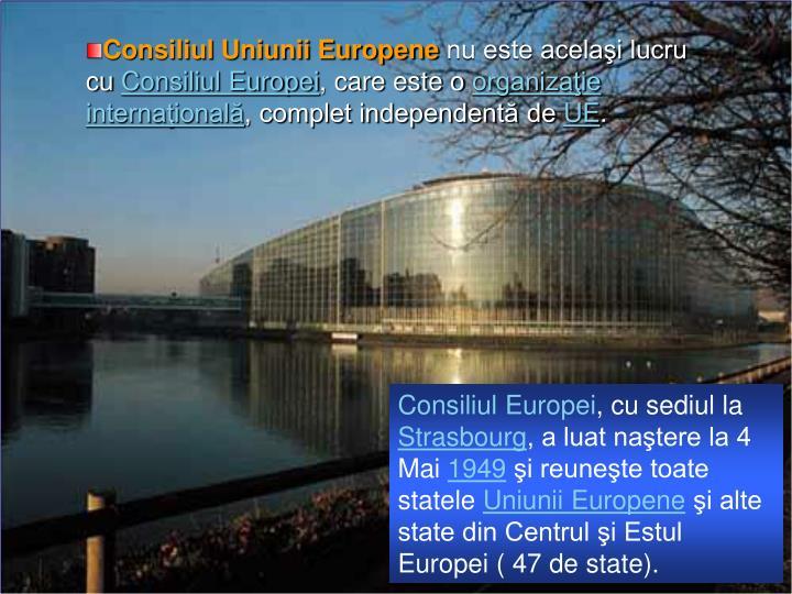 Consiliul Uniunii Europene