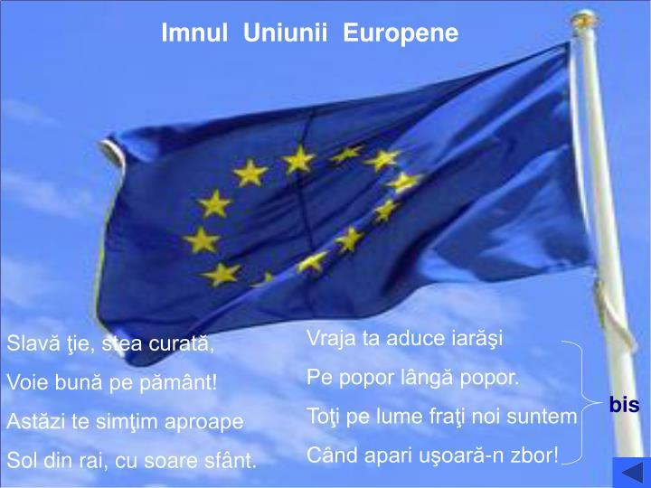 Imnul  Uniunii  Europene