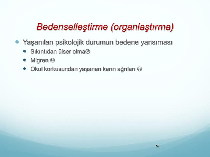 Bedenselleştirme (organlaştırma)