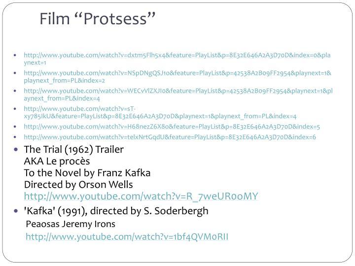 "Film ""Protsess"""