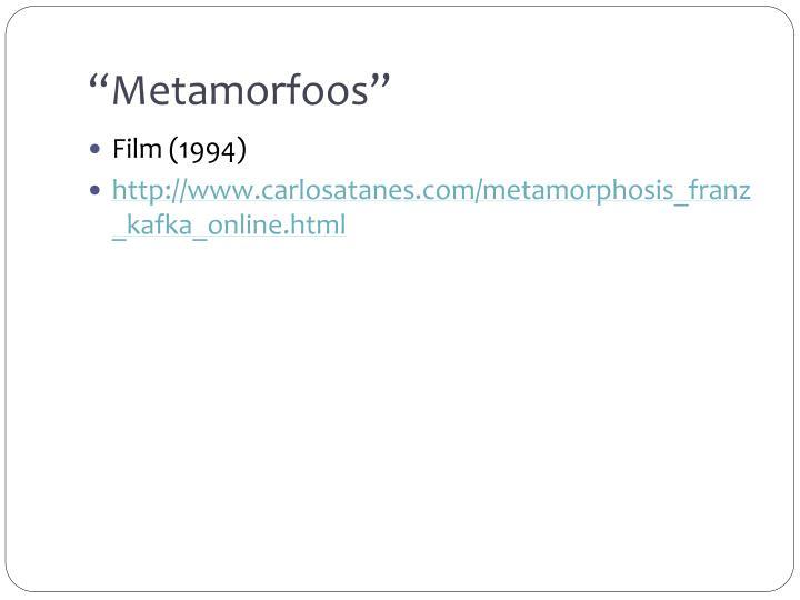Metamorfoos