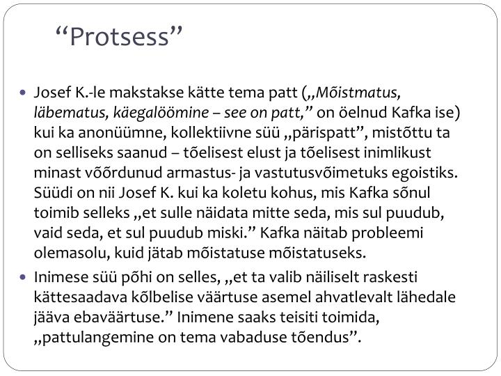 Protsess