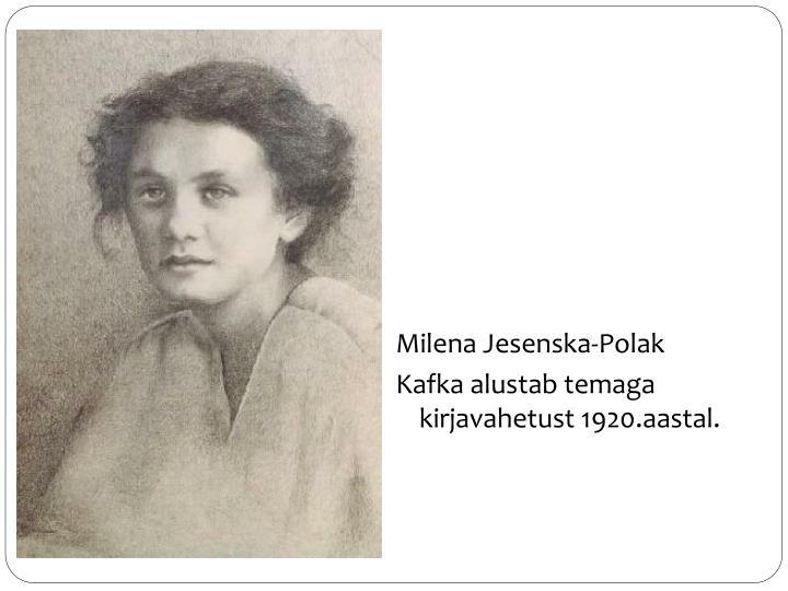 Milena Jesenska-Polak