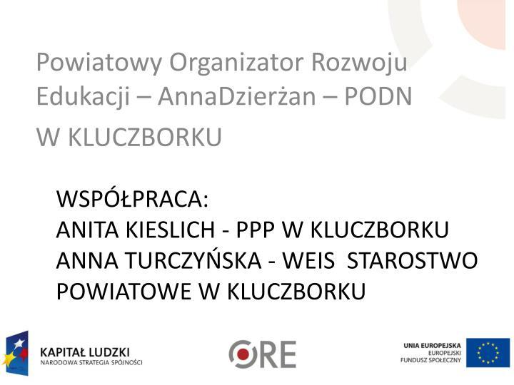 Powiatowy Organizator Rozwoju Edukacji –