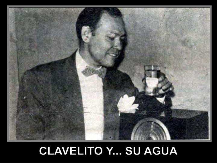 CLAVELITO Y... SU AGUA