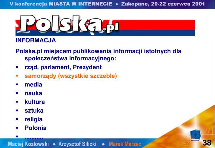V konferencja MIASTA W INTERNECIE