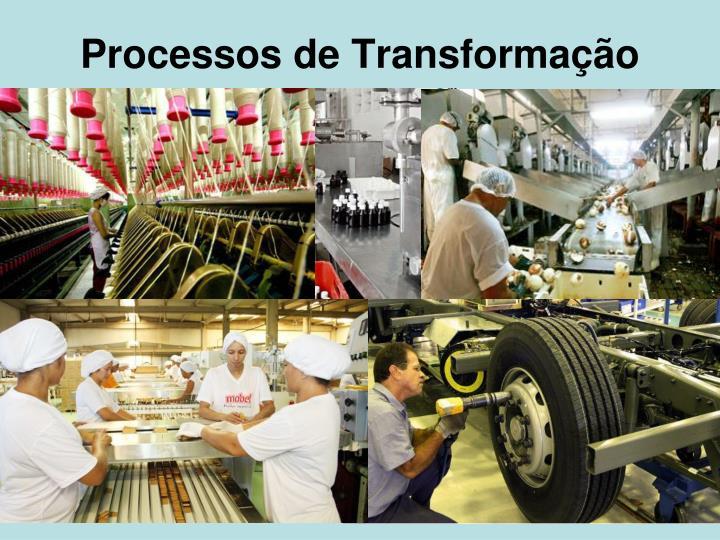 Processos de Transformação