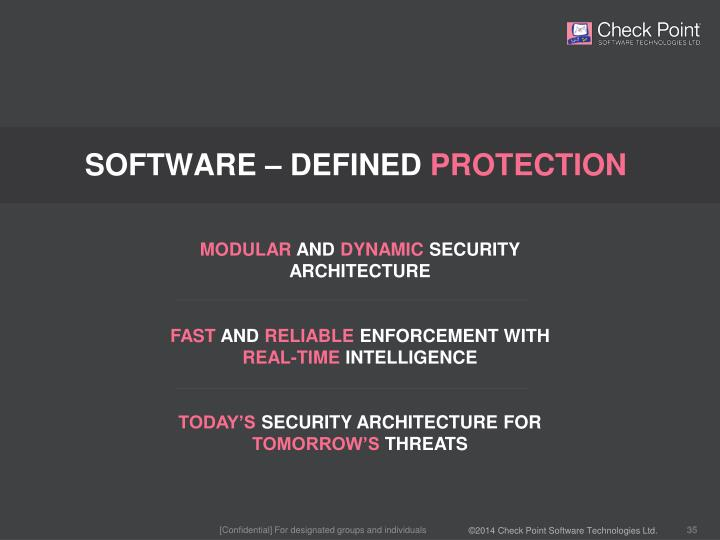 SOFTWARE – DEFINED