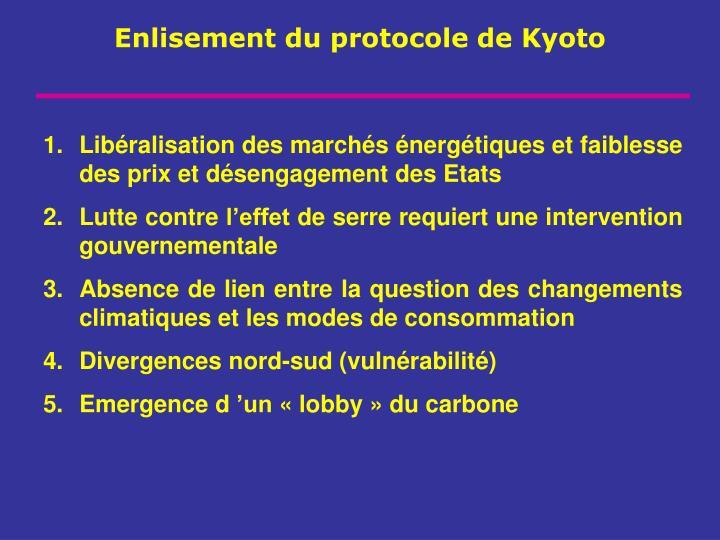 Libéralisation des marchés énergétiques et faiblesse des prix et désengagement des Etats