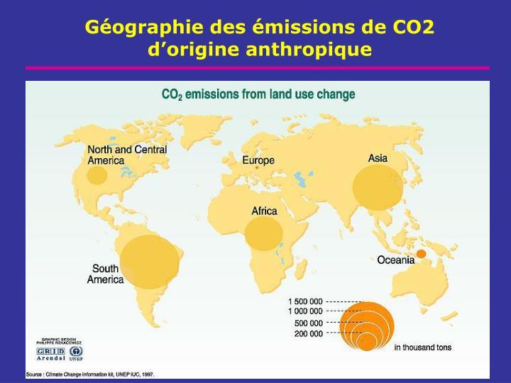 Géographie des émissions de CO2