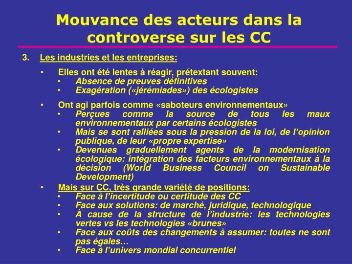 Les industries et les entreprises: