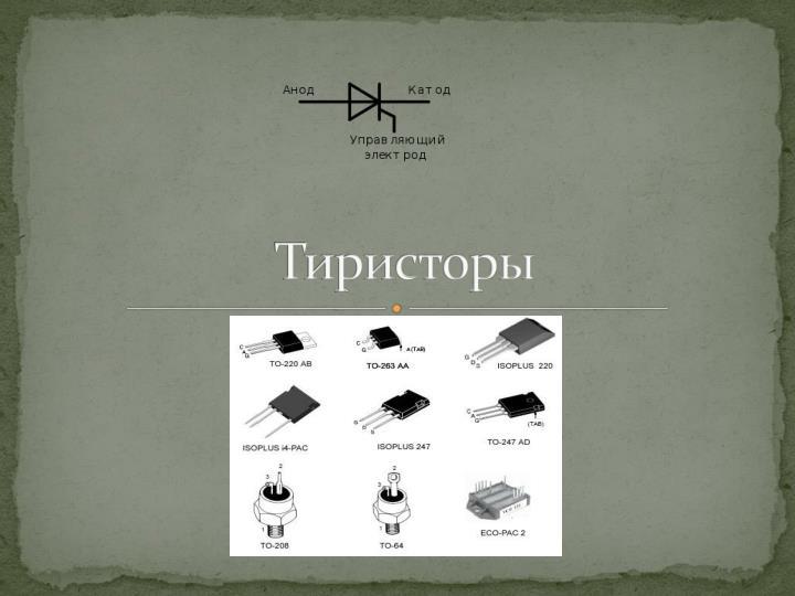 Тиристоры