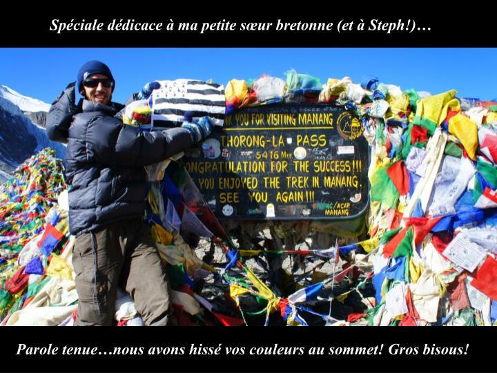 Spéciale dédicace à ma petite sœur bretonne (et à Steph