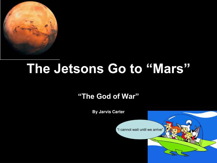 the jetsons go to mars