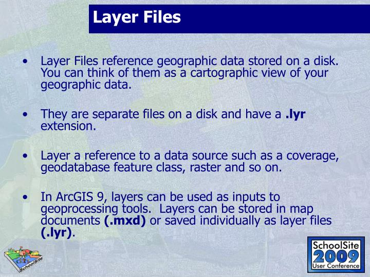 Layer Files