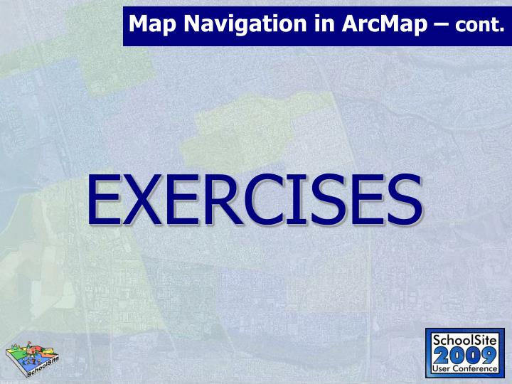 Map Navigation in ArcMap –