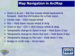 map navigation in arcmap