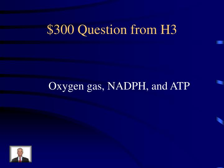 $300 Question from H3