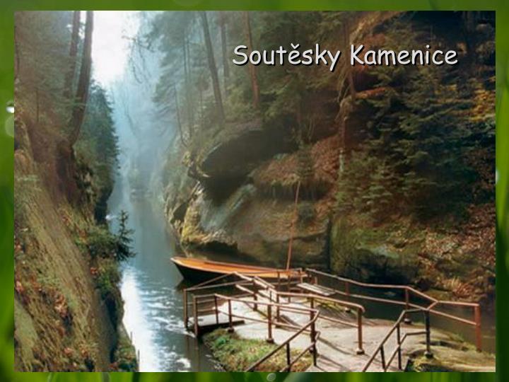 Soutěsky Kamenice