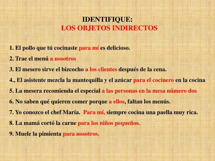 IDENTIFIQUE: