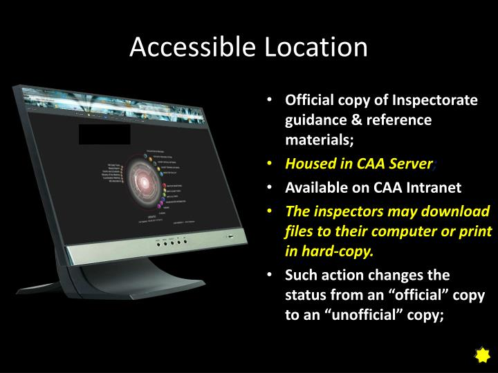 Accessible Location