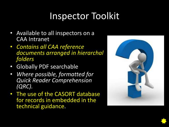 Inspector Toolkit