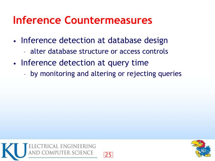 Inference Countermeasures