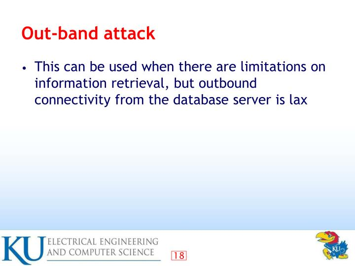 Out-band attack