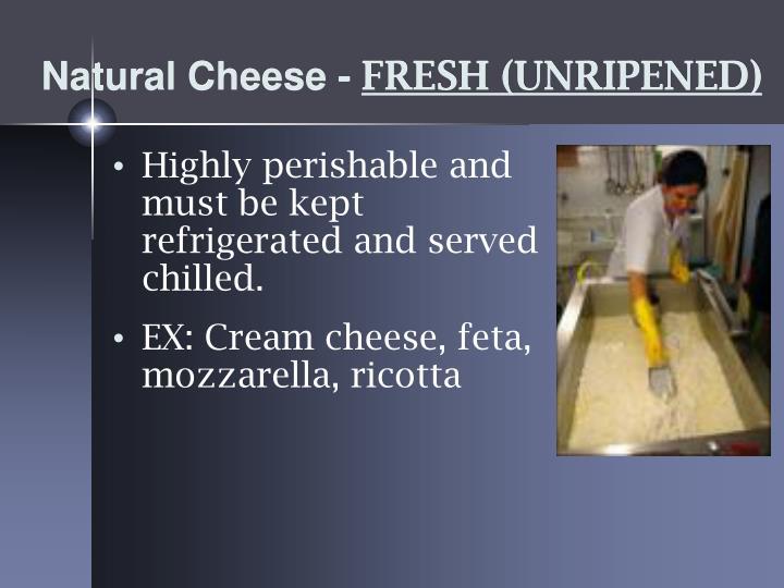 Natural Cheese -