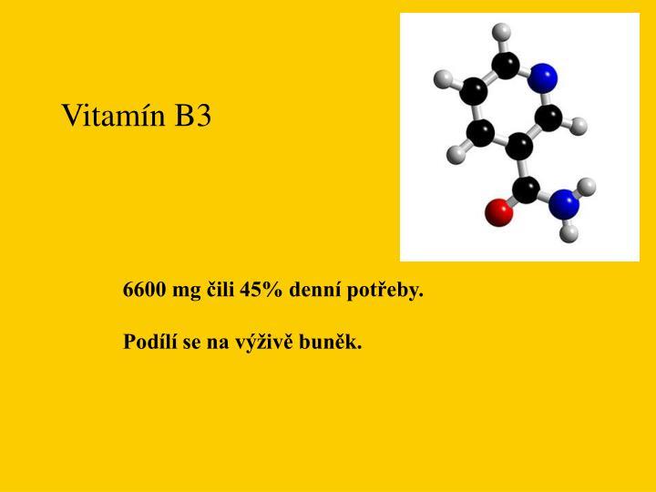 Vitamín B3