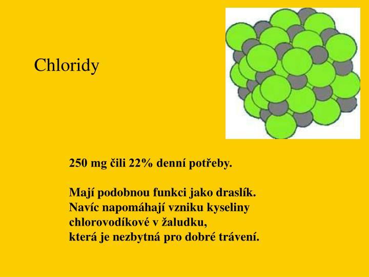 Chloridy
