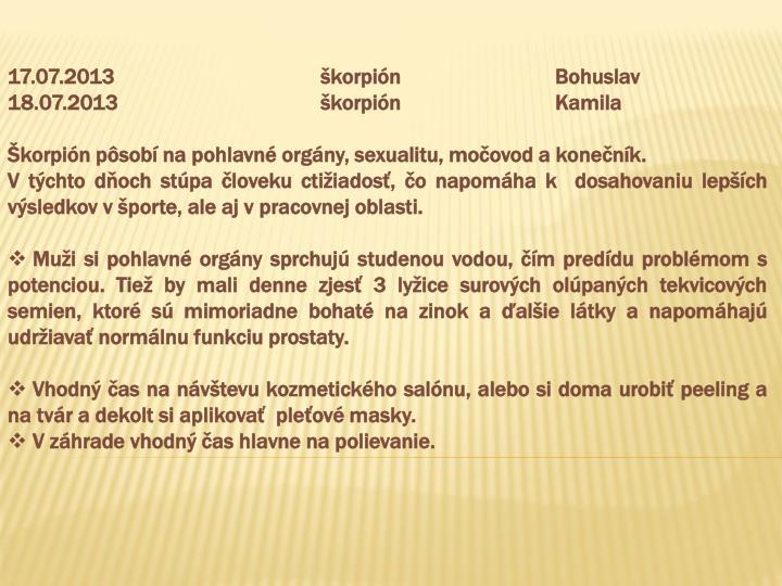 17.07.2013škorpiónBohuslav