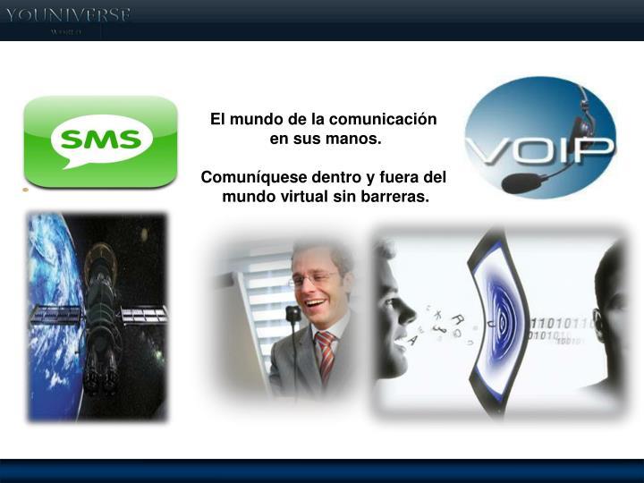 Servicios de comunicación de ultima tecnología!!!