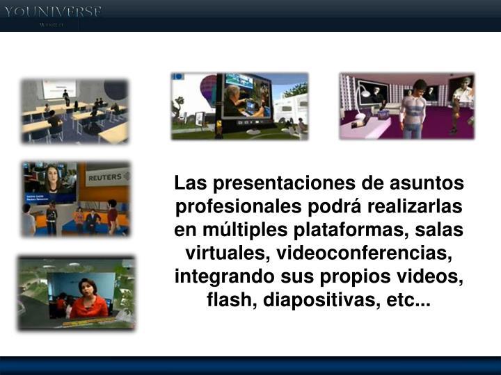 Salas de conferencias online.