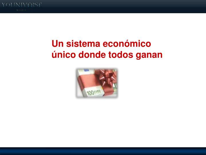 Un sistema económico