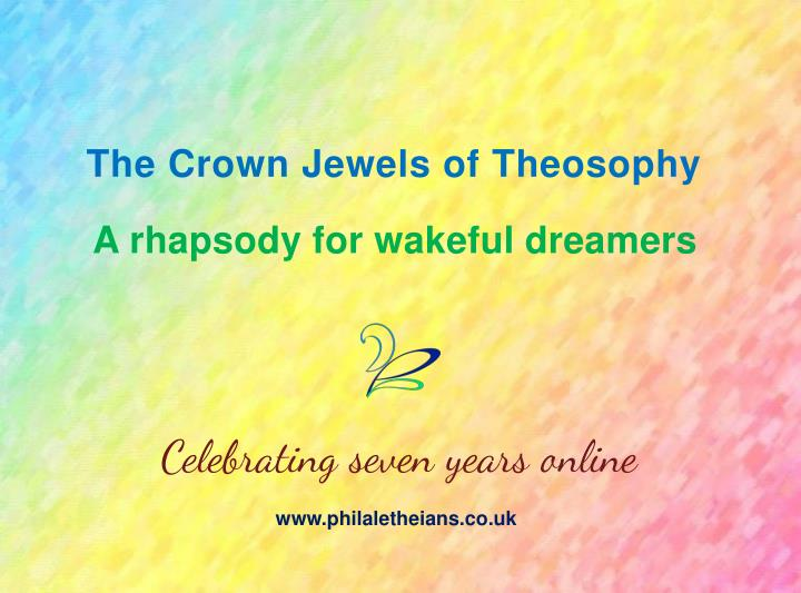 The Crown Jewels of Theosophy