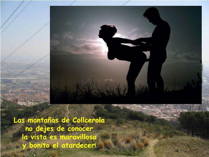 Las montañas de Collcerola