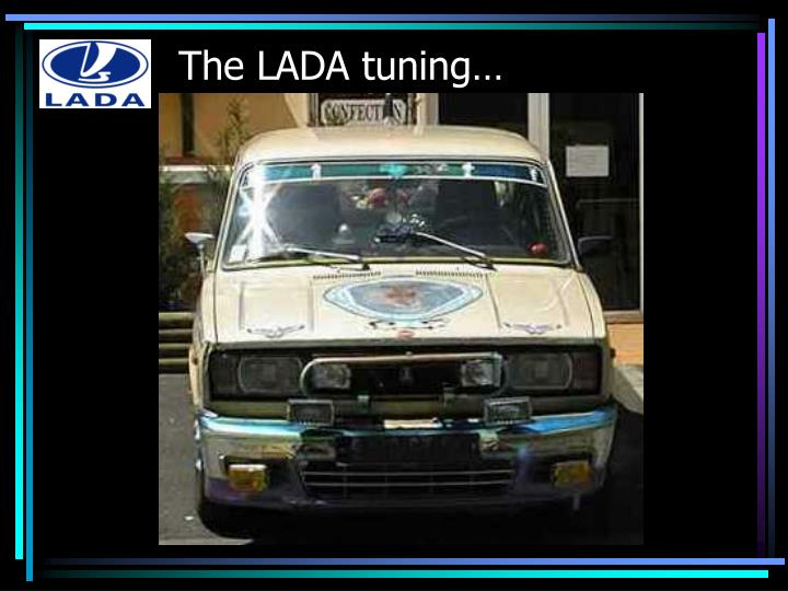 The lada tuning
