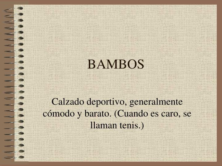 BAMBOS